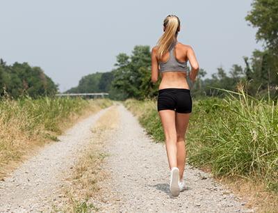 Cálzate adecuadamente y échate a correr