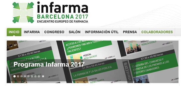 Infarma Barcelona 2017: Todo preparado para la gran cita farmacéutica
