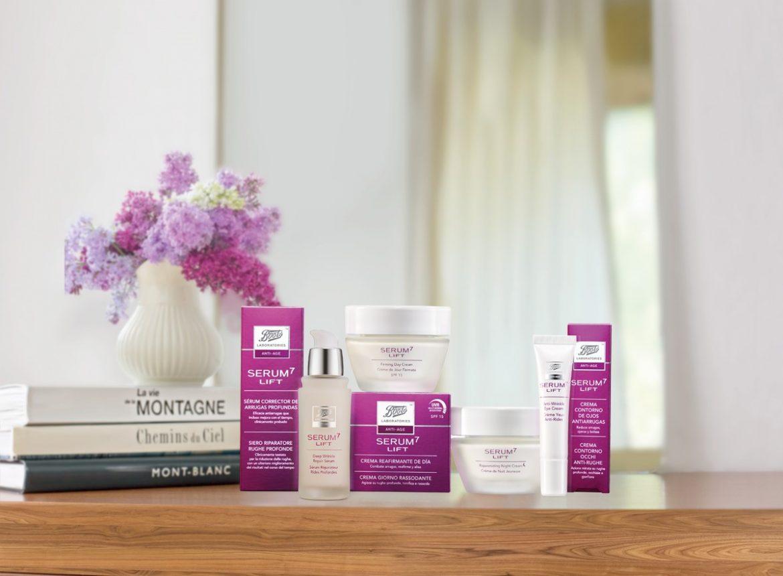 Serum7 Lift reduce las arrugas, reafirma y unifica el tono