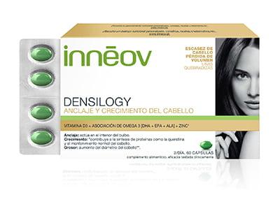 Innéov Densilogy, pelo con volumen y densidad