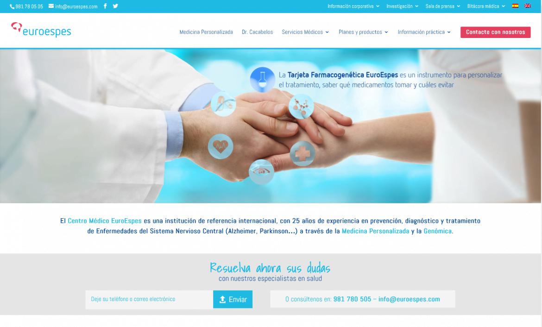 EuroEspes presenta su nueva web, más cerca del paciente