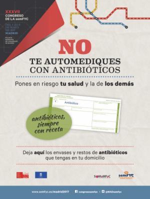 recogida de antibióticos