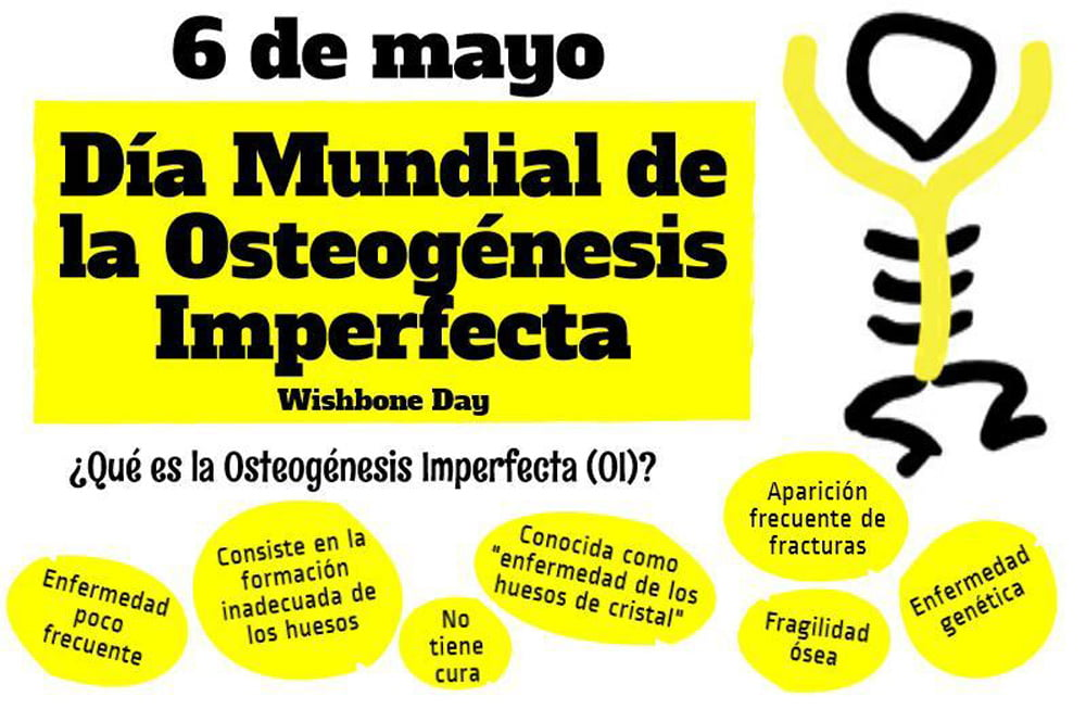 Osteogénesis imperfecta: la enfermedad de los huesos de cristal