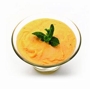 Hummus de mango