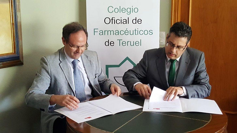 Acuerdo entre el COF de Teruel y SEFAC para desarrollar servicios profesionales