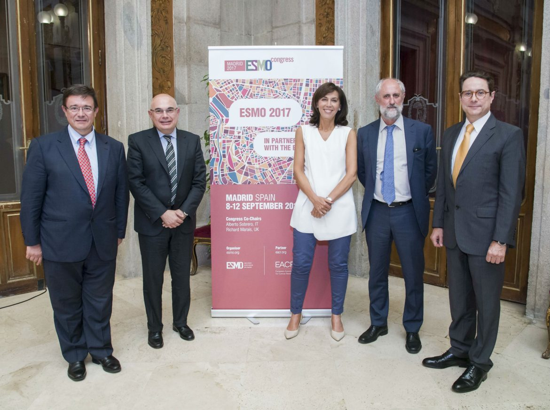 Presentan ESMO 2017 con una fuerte presencia de oncólogos españoles