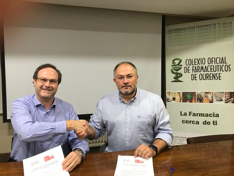El COF de Ourense y SEFAC colaborarán en el desarrollo de servicios profesionales farmacéuticos