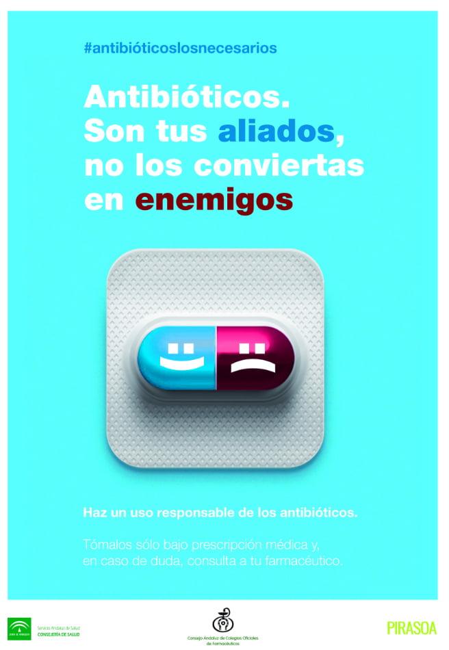 La Farmacia andaluza, unida bajo el lema #antibioticoslosnecesarios