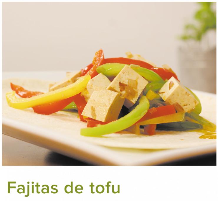 Fajitas de tofu