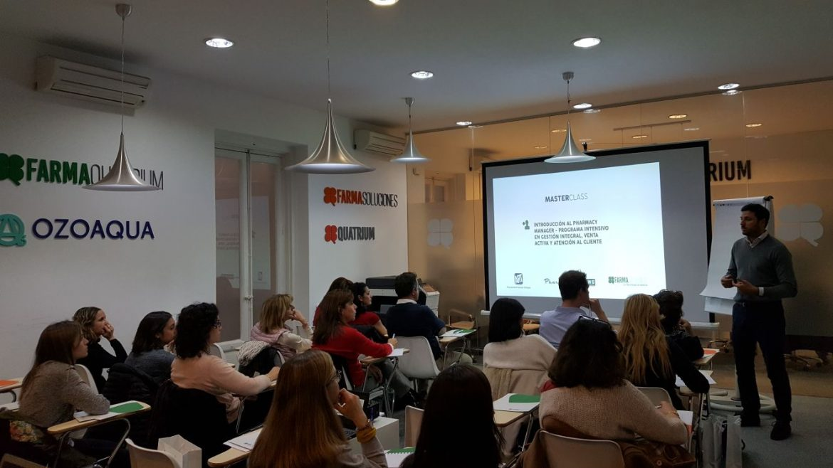 'Pharmacy Manager', masterclass impartida por FarmaQuatrium