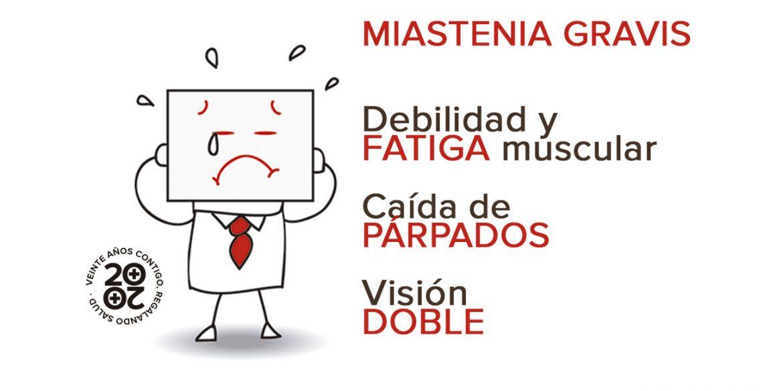 Miastenia gravis: ¡Atento a los síntomas!