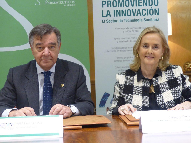 Fenin y el COF de Madrid impulsarán acciones científicas y tecnológicas