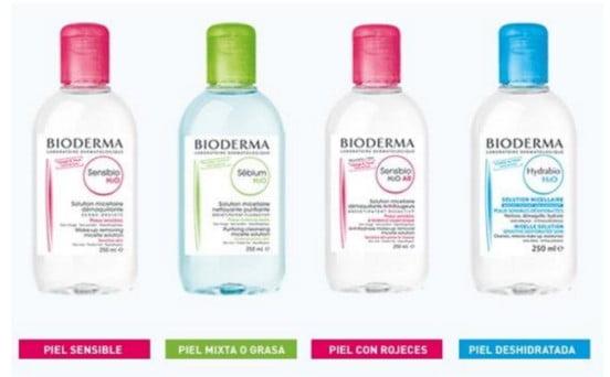 Agua micelar Bioderma: una para cada tipo de piel