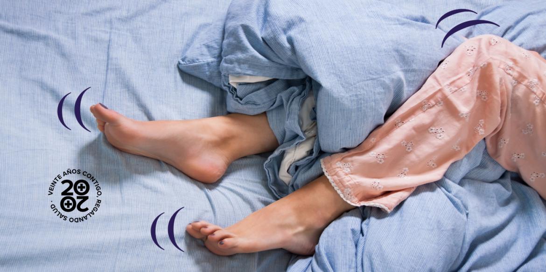 Trastornos del sueño más frecuentes: insomnio, síndrome de piernas inquietas y apnea