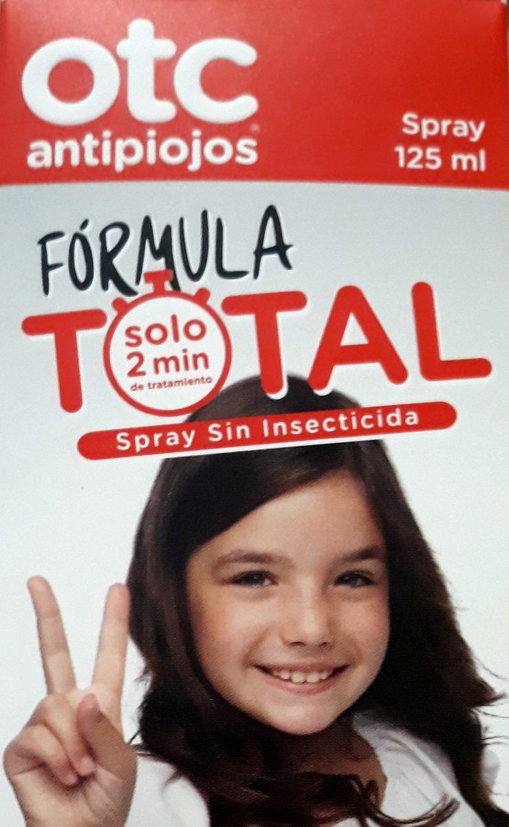 OTC antipiojosFórmula Total