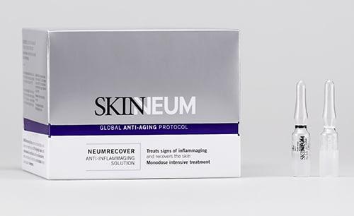 Ferrer amplía la gama Skinneum con las ampollasNeumrecover