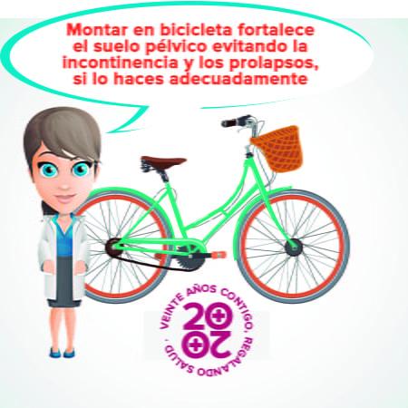 suelo pélvico bicicleta