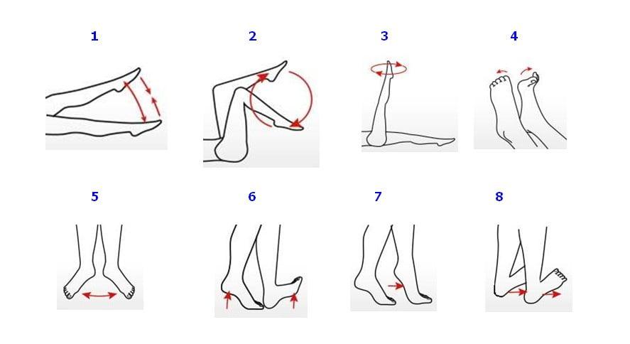 8 ejercicios para las varices