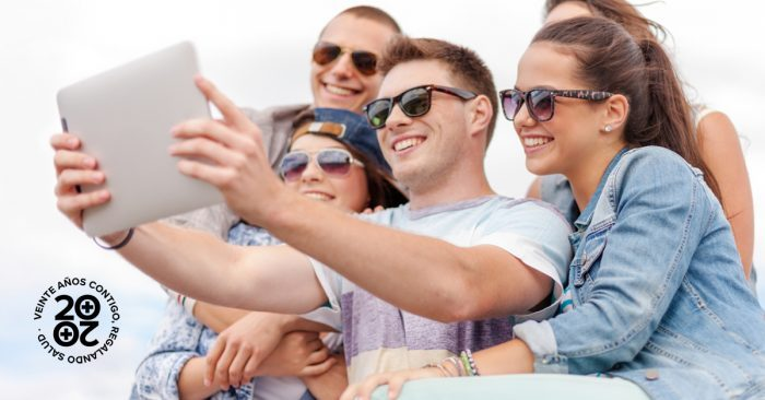 sobreexposición en redes sociales