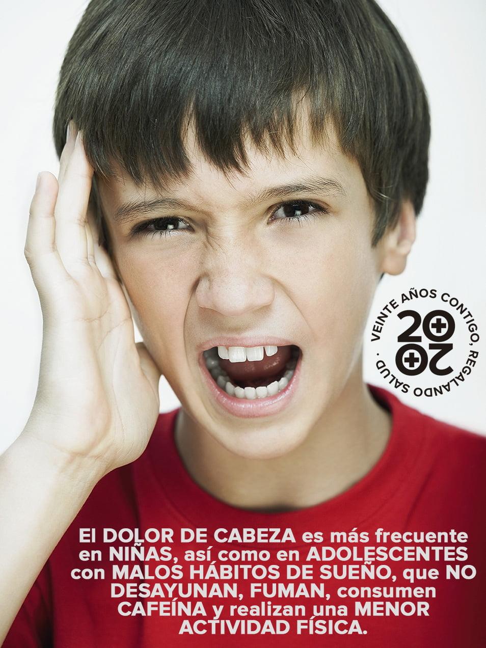 La adolescencia es un período crucial para algunos dolores de cabeza primarios