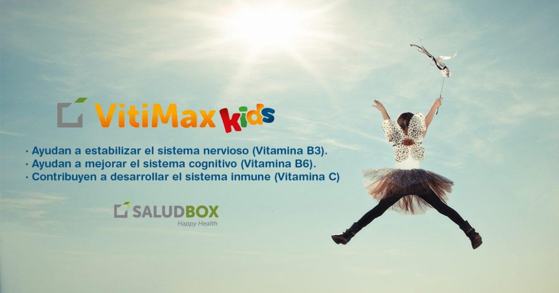 ¿Quieres reforzar las defensas de tus hij@s? Gominolas Saludables Vitimax Kids de SaludBox