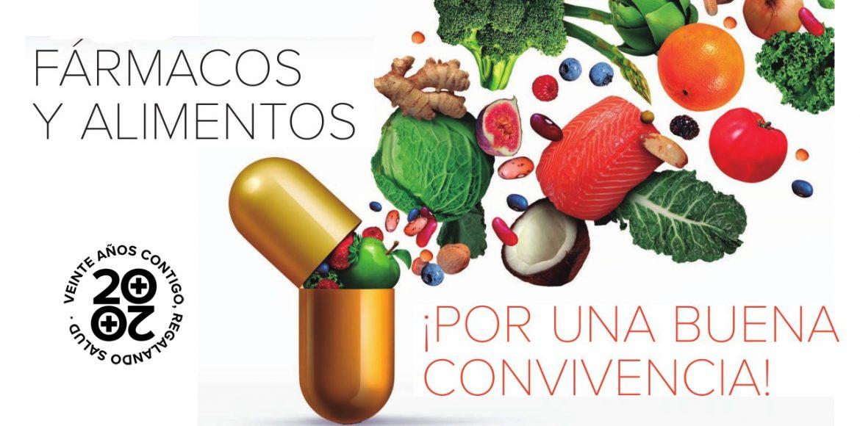 Fármacos y alimentos: por una buena convivencia