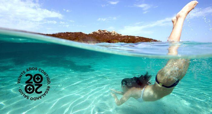 5 beneficios del agua del mar para la piel
