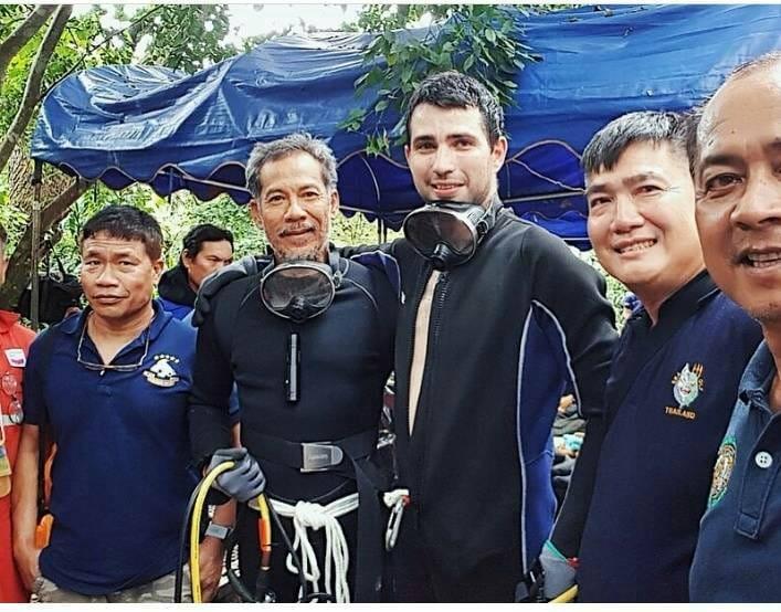 Condecorado el submarinista español que participó en el rescate de los niños de Tailandia