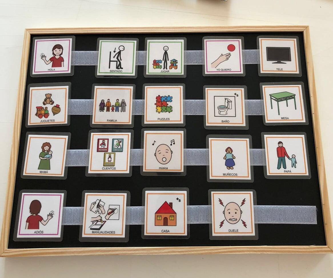 pictogramas para niños con autismo
