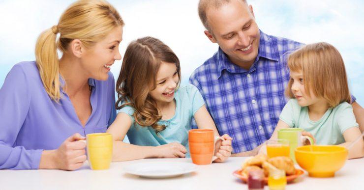 desayuno de los niños