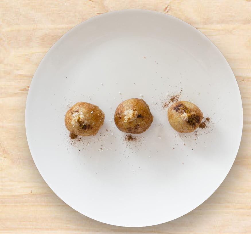 Crujiente de pollo con aromas del Magreb