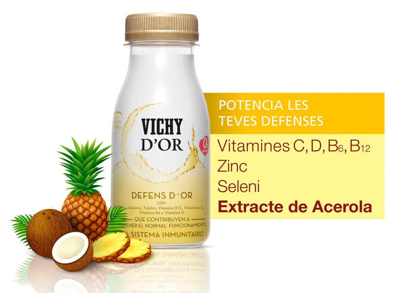 Defens d´Or: nueva bebida funcional que potencia las defensas del organismo