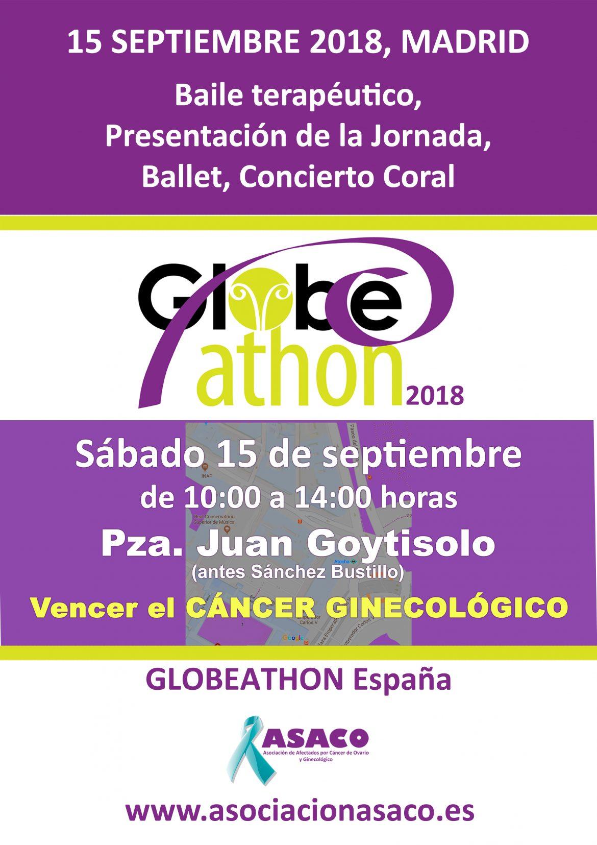 Globeathon, una iniciativa para concienciar sobre tumores ginecológicos