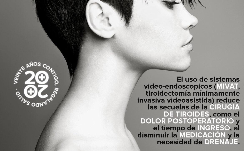 28 de septiembre, Día Nacional de Cáncer de Tiroides