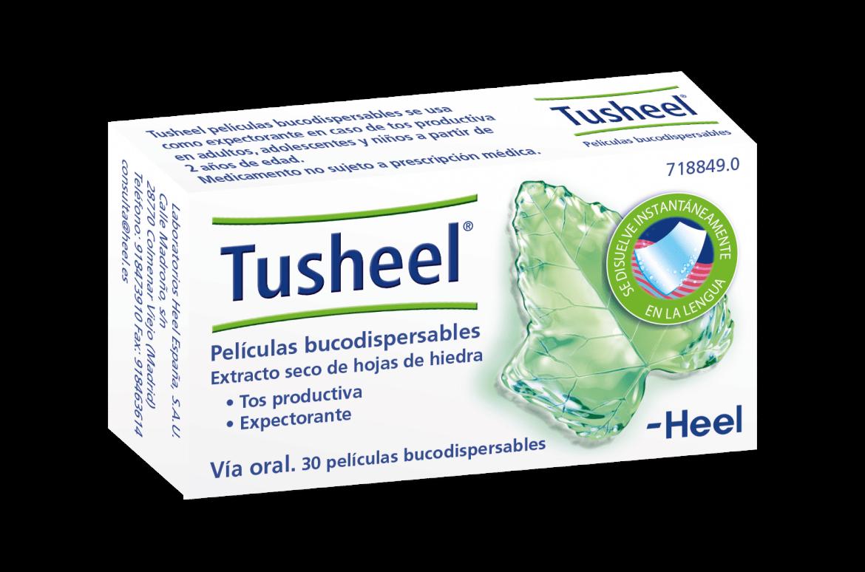 Laboratorios Heel España lanza al mercado Tusheel, películas bucodispersables para la tos productiva