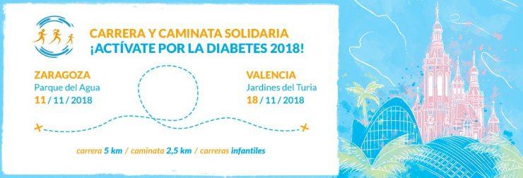 carrera solidaria por la diabetes