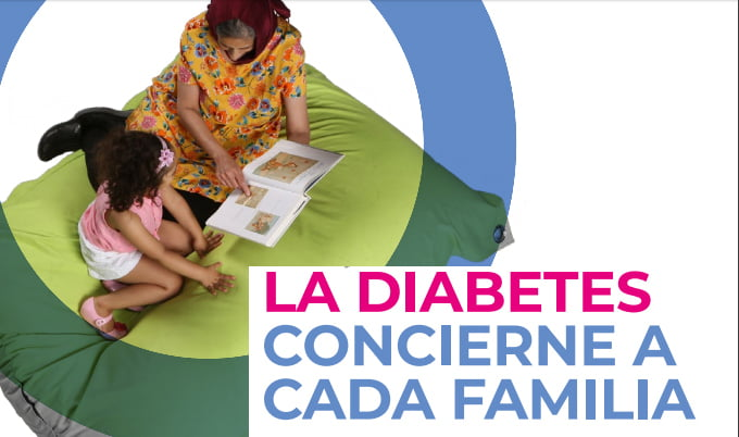 Diabetes: el papel de la familia