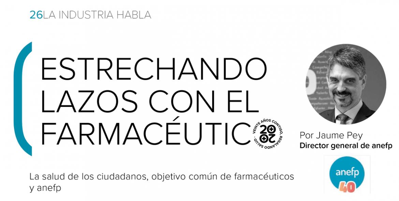 """Jaume Pey: """"Los productos de autocuidado representan más de un 30% del mercado de la farmacia"""""""