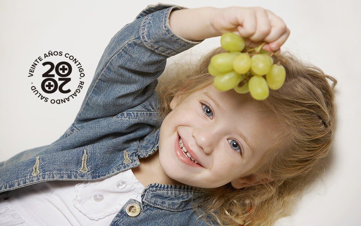 Los expertos aconsejan no dar uvas a menores de 5 años en Nochevieja por riesgo de asfixia