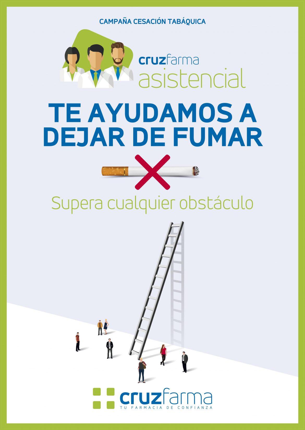 Arranca 'Te ayudamos a dejar de fumar', la nueva campaña de Cruzfarma