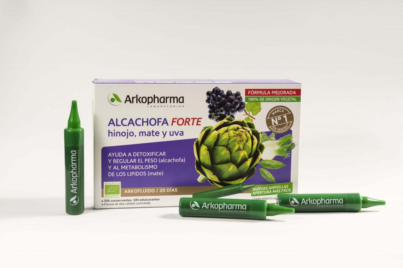 GamaArkofluidos Alcachofa: ayuda a detoxificar y perder peso