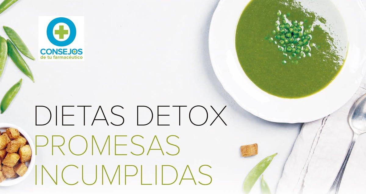 Desmontando las dietas detox