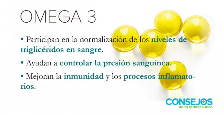 Omega 3 frente al colesterol