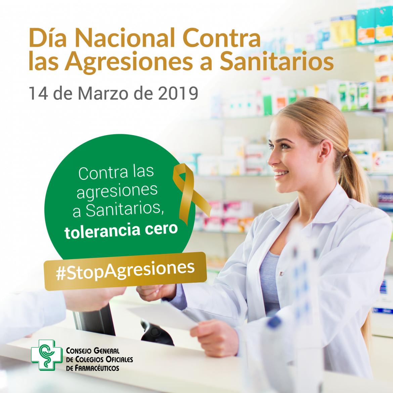 Los farmacéuticos se suman al Día Nacional Contra las Agresiones a Sanitarios