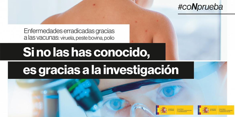 El Gobierno lanza la campaña #CoNprueba frente a las pseudoterapias y las pseudociencias