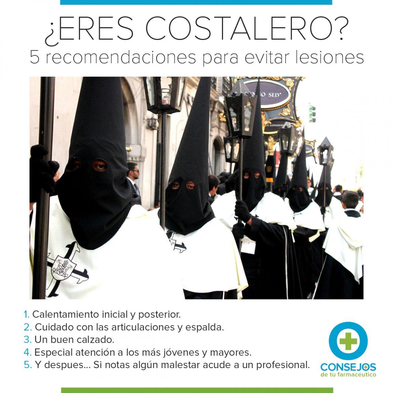 Costaleros: 5 recomendaciones para evitar lesiones