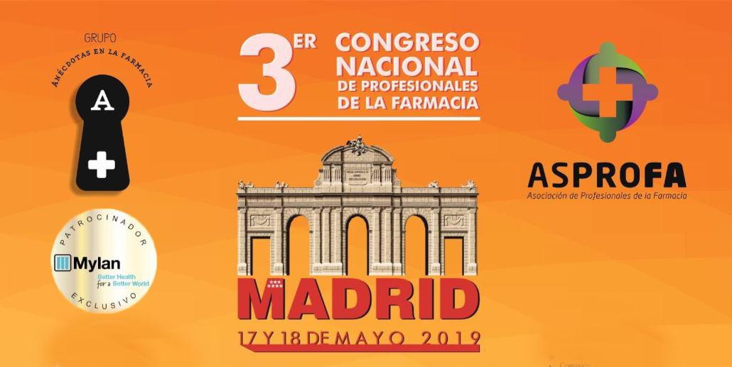 El 17 y 18 de mayo tienes una cita con el Congreso Nacional de Profesionales de la Farmacia