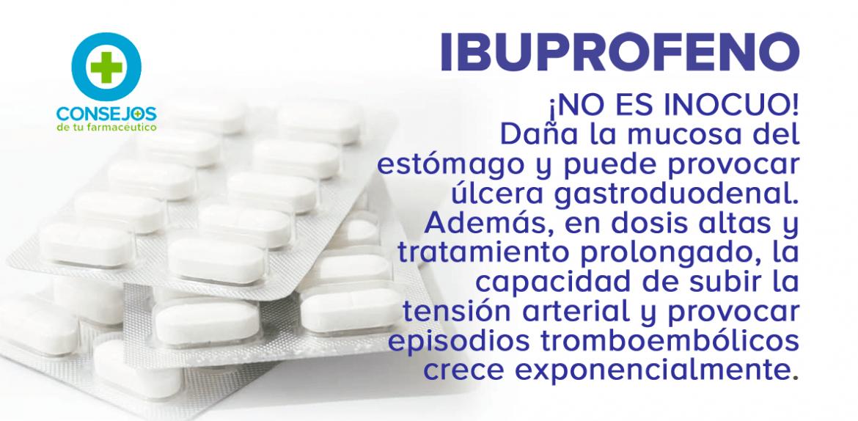 Ibuprofeno, ¡ojo a los asmáticos!