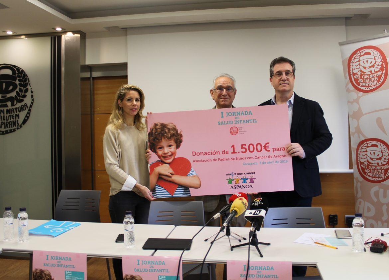 Pediatras, farmacéuticos y psicólogos participan en la I Jornada de Salud Infantil en Zaragoza