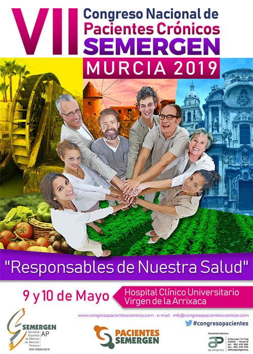 El VII Congreso Nacional de Pacientes Crónicos arranca hoy en Murcia